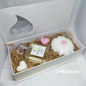 Κουτάκι δώρου με άρωμα και αρωματικά σαπουνάκια