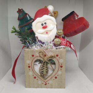 χριστουγεννιάτικο κασπώ με αρωματικά σαπούνια