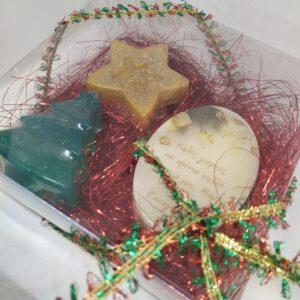 κουτάκι δώρου με αρωματικά σαπούνια