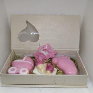 κασετίνα δώρου με αρωματικά σαπουνάκια