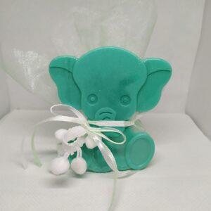 Μπομπονιέρα βάπτισης ελεφαντάκι
